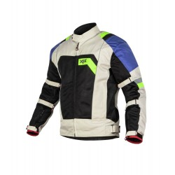 XTS Speedway White Blue Green Jacket