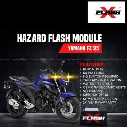 Yamaha FZ 250 Flash X Hazard Flash Module, Blinker,Flasher