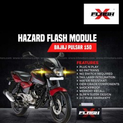 Bajaj Pulsar 150 Flash X Hazard Flash Module, Blinker,Flasher