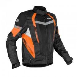 Rynox New Tornado Pro 4 Jacket ( Black Orange )