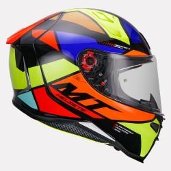 MT Helmet Revenge 2 Scalpel (Gloss fluorescentyellow)