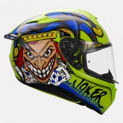 MT Targo Joker Pro Gloss yellow Helmet