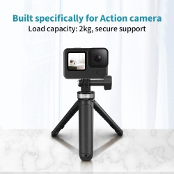 Tripod stand with selfie pole for Action cameras