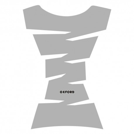 Oxford Jagged Tank Pad - Silver
