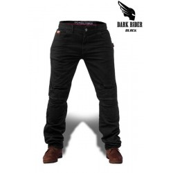 DARK RIDER MOTORCYCLE JEANS BLACK-COMFORT FIT