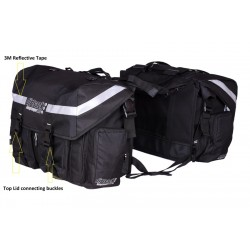 Long Ranger Pro - NEW DESIGN WATERPROOF- Motorbike Saddlebag (50 L)