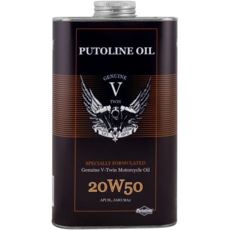 Putoline V-Twin Motorcycle Oil SAE 20W-50