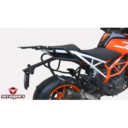 KTM 390/250 RearRack+BackRest