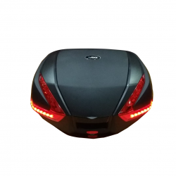 SG35 Top Black Rear Box with LED (47 L)