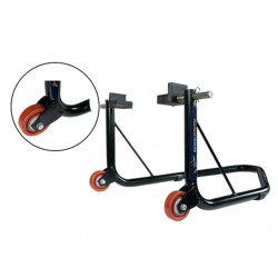 Grand Pitstop Rear Paddock Stand with Swing Arm Rest ( Non Dismantable Black)