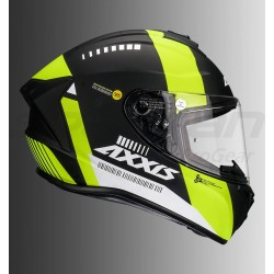 Axxis Draken MP4 Matt Helmet (Black-Flour-Yellow)