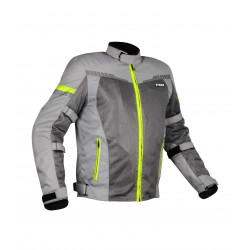 Rynox Air GT3 Jacket ( Grey Hi-Viz Green)