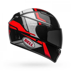 Bell Qualifier Flare Gloss Helmet ( Black Red )
