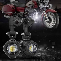 LED motorcycle headlights