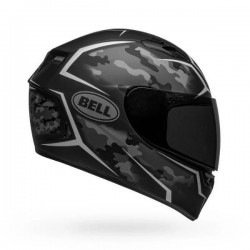 Bell Qualifier Stealth Camo Matte Helmet ( Black White)
