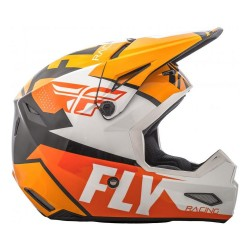 Flyracing Elite Guild Gloss orange Helmet