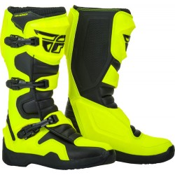 Fly Racing Maverik Yellow Boots
