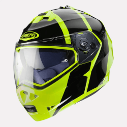 Caberg Duke II Impact Gloss Fluorescent Yellow Helmet