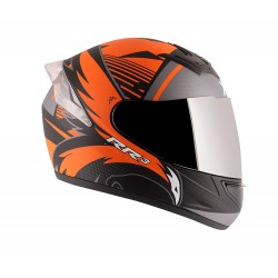 Axor Rage RR3 Black Dull Black Orange Helmet
