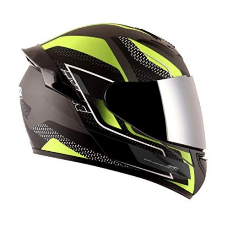 Axor Rage Rusty Black Neon Yellow Helmet