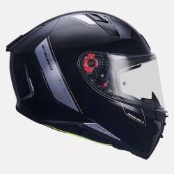 MT Revenge 2 Solid Gloss Black Helmet
