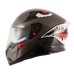 Axor Apex Sharkco D/V Metal Grey Helmet