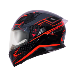 Axor Grid D/V Matt Red Helmets