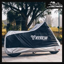 Byke'it! waterproof bike cover keeps your motorcycle protected from the elements, whether rain, snow or dust. Its tough polyester construction and loads of features will keep your pride and joy, well-guarded.- Tough polyester outer material to shield against weather and dirt - Elasticated base and belly buckle to hold the cover in place - Strategically positioned holes to enable the use of a chain lockByke'it! Waterproof Bike Cover - Small, Medium and Large at ₹2,100, ₹2,400 and ₹2,700 respectively, link in bio.📞: 9769902249 for queries#AHHelmets #Helmets #HelmetsInIndia #Bikers #Bike #BikeLife #MotorCycle #MotorBike #MotorCycles #BikeRide #MountainBike #RoadBike #Racing #Cruising #Wheels #InstaMotorCycle #InstaMoto #InstaBike #InstaMotor #Bikestagram #Biker #Moto #BikersOfInstagram #Ride #BikePorn #Motor #BykeIt