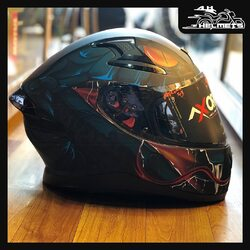 To safeguard the head, the EPS liner of the Apex helmet is designed to fit the head perfectly to absorb the energies of an impact and avoid penetration. The chinstrap secures the helmet and the head in order to prevent it from rolling off.- Double D-ring for a secure fit - Internal sun visor included - Equipped with Anti-Fog pin-lock system. Integrated Spoiler for Streamlined Presentation & Stability at High Speed.Axor Apex Helmets for ₹4,994, link in bio.📞: 9769902249 for queries#AHHelmets #Helmets #HelmetsInIndia #Bikers #Bike #BikeLife #MotorCycle #MotorBike #MotorCycles #BikeRide #MountainBike #RoadBike #Racing #Cruising #Wheels #InstaMotorCycle #InstaMoto #InstaBike #InstaMotor #Bikestagram #Biker #Moto #BikersOfInstagram #Ride #BikePorn #Motor #Axor #AxorHelmets