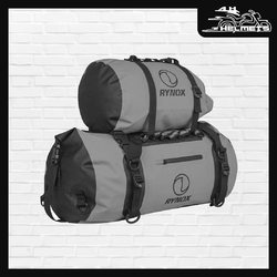 Waterproof rainstorm cover Capacity: Main Compartment- Holds 46 Liters 2 Additional Easy Access pocket with Zip Closure- Holds 1 Lt. 1 Outer pocket- Holds 1.5 Lt.> 1 Bottle pocket with tightening Strap- Hold 2 x 1 Lt. Bottle Rynox Expedition Trail Bag 2 – Stormproof for ₹3,950 Introducing the Expedition Series - Stormproof Motorcycle Luggage System! Now in its 2nd evolved avatar, with increased volume and a more robust shell; the Expedition Dry Bag 2 is perfect for explorers whose adventures may lead them into any weather.Rynox Expedition Dry Bag 2 - Stormproof for ₹1,250 Shopping link in bio. 📞: 9769902249 for queries We accept Bajaj EMI. #AHHelmets #Helmets #HelmetsInIndia #Bikers #Bike #BikeLife #MotorCycle #MotorBike #MotorCycles #BikeRide #MountainBike #RoadBike #Racing #Cruising #Wheels #InstaMotorCycle #InstaMoto #InstaBike #InstaMotor #Bikestagram #Biker #Moto #BikersOfInstagram #Ride #BikePorn #Motor #Rynox #RynoxTailBag #TailBag