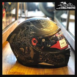 The plush interiors keep you in harmony throughout your journey while safety is taken care of with its dual certification. Specced with features that blend together comfort and safety, The Revenge 2 is easily the best pick no matter what the occasion is. MT Revenge 2 Helmets for ₹7,600, link in bio. 📞: 9769902249 for queries We accept Bajaj EMI. #AHHelmets #Helmets #HelmetsInIndia #Bikers #Bike #BikeLife #MotorCycle #MotorBike #MotorCycles #BikeRide #MountainBike #RoadBike #Racing #Cruising #Wheels #InstaMotorCycle #InstaMoto #InstaBike #InstaMotor #Bikestagram #Biker #Moto #BikersOfInstagram #Ride #BikePorn #Motor #MTHelmets #MTHelmet