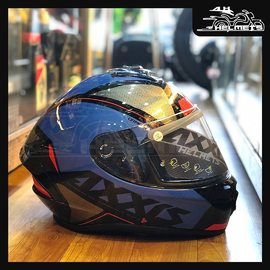 The Gear is a stunning dual certified helmet from the Axxis brand. It promises affordability without compromising on safety and comfort. Made of high impact polycarbonate to withstand greater impacts, it is guaranteed to boost your confidence on the motorcycle. Axxis Draken Gear Gloss Helmets for ₹4,200, link in bio. 📞: 9769902249 for queries We accept Bajaj EMI. #AHHelmets #Helmets #HelmetsInIndia #Bikers #Bike #BikeLife #MotorCycle #MotorBike #MotorCycles #BikeRide #MountainBike #RoadBike #Racing #Cruising #Wheels #InstaMotorCycle #InstaMoto #InstaBike #InstaMotor #Bikestagram #Biker #Moto #BikersOfInstagram #Ride #BikePorn #Motor #AxxisHelmets #AxxisHelmet