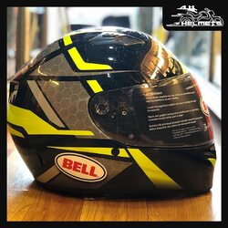 The Bell Qualifier raises the performance/value quotient to exceptional new levels. From the aggressive and aerodynamic shell to our exclusive Click Release TM shield system, the Qualifier comes packed with many features that come directly from our industry-leading Star. With exceptional craftsmanship, it looks stylish and is known for its performance-oriented design.Bell Qualifier Helmets for ₹9,499, link in bio.📞: 9769902249 for queries#AHHelmets #Helmets #HelmetsInIndia #Bikers #Bike #BikeLife #MotorCycle #MotorBike #MotorCycles #BikeRide #MountainBike #RoadBike #Racing #Cruising #Wheels #InstaMotorCycle #InstaMoto #InstaBike #InstaMotor #Bikestagram #Biker #Moto #BikersOfInstagram #Ride #BikePorn #Motor #BellHelmets #BellHelmet
