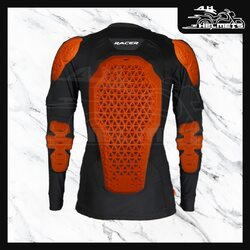 The RACER Motion Top2 Jacket is made of soft mesh fabric incorporating D3O® protectors. It makes a perfect choice for trail & off-road riders due to its light weight (990 grams) & snug fit capability. With the Motion Top2, you no longer need to wear heavy riding jackets.- D3O® protectors on back, shoulder & elbows - D30™ AERO BP3 Super Light Back protector - Additional foam padding on chest - Removable sleeves - ATR® anti-microbial fabricRacer Motion Top Jacket with D3O for ₹17,990, link in bio.📞: 9769902249 for queries#AHHelmets #Helmets #HelmetsInIndia #Bikers #Bike #BikeLife #MotorCycle #MotorBike #MotorCycles #BikeRide #MountainBike #RoadBike #Racing #Cruising #Wheels #InstaMotorCycle #InstaMoto #InstaBike #InstaMotor #Bikestagram #Biker #Moto #BikersOfInstagram #Ride #BikePorn #Motor #Racer