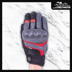 Designed with a strictly utilitarian approach, just like the Air GT 3 jacket, the Air GT gloves are no-nonsense gloves for the no-nonsense motorcyclist! Not just the protectors, the entire Air GT glove is CE certified to standard EN13594:2015. This CE certification includes 15 different tests and the gloves are verified to have Impact resistance, Residual force, Abrasion resistance, Cut resistance, Tear strength and the Seam strength.Rynox Air GT Gloves for ₹2,550, link in bio.📞: 9769902249 for queries#AHHelmets #Helmets #HelmetsInIndia #Bikers #Bike #BikeLife #MotorCycle #MotorBike #MotorCycles #BikeRide #MountainBike #RoadBike #Racing #Cruising #Wheels #InstaMotorCycle #InstaMoto #InstaBike #InstaMotor #Bikestagram #Biker #Moto #BikersOfInstagram #Ride #BikePorn #Motor #Rynox