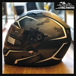 The Bell Qualifier raises the performance/value quotient to exceptional new levels. From the aggressive and aerodynamic shell to our exclusive Click Release TM shield system, the Qualifier comes packed with many features that come directly from our industry-leading Star. With exceptional craftsmanship, it looks stylish and is known for its performance-oriented design.Bell Qualifier Helmets for ₹9,499, link in bio.📞: 9769902249 for queries#AHHelmets #Helmets #HelmetsInIndia #Bikers #Bike #BikeLife #MotorCycle #MotorBike #MotorCycles #BikeRide #MountainBike #RoadBike #Racing #Cruising #Wheels #InstaMotorCycle #InstaMoto #InstaBike #InstaMotor #Bikestagram #Biker #Moto #BikersOfInstagram #Ride #BikePorn #Motor #Bell #BellHelmets