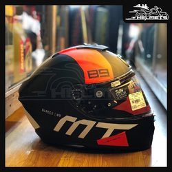Designed to be in perfect sync with the rider, the machine and the surroundings, The aerodynamic Plus provides you with a pleasant touring experience. Push-to-release locking mechanism for easy opening and closing of the visor. MT Blade 2SV 89 Motorcycle Helmet (Matt Florescent Orange and Matt Grey) for ₹7,999, link in bio. 📞: 9769902249 for queries We accept Bajaj EMI. #AHHelmets #Helmets #HelmetsInIndia #Bikers #Bike #BikeLife #MotorCycle #MotorBike #MotorCycles #BikeRide #MountainBike #RoadBike #Racing #Cruising #Wheels #InstaMotorCycle #InstaMoto #InstaBike #InstaMotor #Bikestagram #Biker #Moto #BikersOfInstagram #Ride #BikePorn #Motor #MTHelmets #MTHelmet