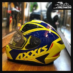 - Full face Helmet - High impact polycarbonate shell for improved strength - Pinlock ready max vision visor, equipped to attach/detach Anti-fog inserts - Axxis's quick release system (QRS) helps in removing and replacing the visor effortlessly. - Dual certification - ECE R-22.05 (EU) & DOT (US) - Weight: 1450 GramsAxxis Helmets for ₹4,200, link in bio.📞: 9769902249 for queries#AHHelmets #Helmets #HelmetsInIndia #Bikers #Bike #BikeLife #MotorCycle #MotorBike #MotorCycles #BikeRide #MountainBike #RoadBike #Racing #Cruising #Wheels #InstaMotorCycle #InstaMoto #InstaBike #InstaMotor #Bikestagram #Biker #Moto #BikersOfInstagram #Ride #BikePorn #Motor #Axxis #AxxisHelmets