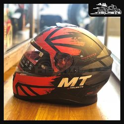 To stand out from the crowd you have to be different or else you'll just blend in. The MT Thunder Kuffner is a spectacular helmet that offers confidence where ever you ride! Embedded speaker pockets for Bluetooth communication systems. Pinlock ready Max Vision Visor - equipped to attach/detach Anti-fog inserts. For a clear edge-to-edge vision even in foggy weather conditions. MT Thunder3 SV Kuffner Gloss (Red, Orange and Fluorescent Yellow Helmet) for ₹6,600, link in bio. 📞: 9769902249 for queries We accept Bajaj EMI. #AHHelmets #Helmets #HelmetsInIndia #Bikers #Bike #BikeLife #MotorCycle #MotorBike #MotorCycles #BikeRide #MountainBike #RoadBike #Racing #Cruising #Wheels #InstaMotorCycle #InstaMoto #InstaBike #InstaMotor #Bikestagram #Biker #Moto #BikersOfInstagram #Ride #BikePorn #Motor #MTHelmets #MTHelmet