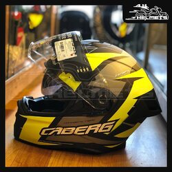 A stylish yet comfortable helmet that is track appropriate and functional for everyday use.- 2 years Premium warranty - Robust Chin Strap with Double D-Ring fasteners - Safest way to fasten a helmet - Embedded speaker pockets for Bluetooth communication systems - Anti-scratch treated, outer clear visor along with exclusive Max Vision Pinlock lens to avoid fogging - The rear spoiler gives a sporty and aggressive look to the helmet, enhances the aerodynamics at higher speed and reduces the turbulence - Weight: 1390 +/- 50 gr) gramsCaberg Drift Evo Helmets for ₹22,500, link in bio.📞: 9769902249 for queries#AHHelmets #Helmets #HelmetsInIndia #Bikers #Bike #BikeLife #MotorCycle #MotorBike #MotorCycles #BikeRide #MountainBike #RoadBike #Racing #Cruising #Wheels #InstaMotorCycle #InstaMoto #InstaBike #InstaMotor #Bikestagram #Biker #Moto #BikersOfInstagram #Ride #BikePorn #Motor #Caberg #CabergHelmets