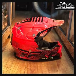 The Toxin combines style and critical functions in one complete package.The Toxin is DOT/ECE 22.05 approved — a durable and lightweight polymer shell combined with a well ventilated dual-stage EPS. It is further enhanced with an integrated MIPS® Multi-directional Impact Protection System.1. Flyracing Toxin MIPS Embargo Helmet (Black/Red) for ₹14,999This helmet has it all: FLY's originally designed Elite helmet maximizes style and comfort. Elite offers a multi-port ventilation system, minimized weight, and spot-on comfort and fit. Built to meet and exceed DOT/ ECE 22.05 safety standards.2, 3, 4, 5, 6. Flyracing Elite Helmets for ₹9,999Shopping link in bio.📞: 9769902249 for queries#AHHelmets #Helmets #HelmetsInIndia #Bikers #Bike #BikeLife #MotorCycle #MotorBike #MotorCycles #BikeRide #MountainBike #RoadBike #Racing #Cruising #Wheels #InstaMotorCycle #InstaMoto #InstaBike #InstaMotor #Bikestagram #Biker #Moto #BikersOfInstagram #Ride #BikePorn #Motor #FlyHelmets #FlyHelmet