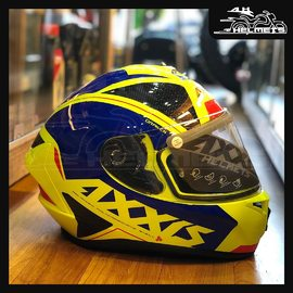 The Mt Axxis full-face Helmets come with high impact polycarbonate shell for improved strength with Pinlock ready max vision visor - equipped to attach/detach Anti-fog inserts. They are one of the best lightest helmets in India Axxis Helmets for ₹4,200, link in bio. 📞: 9769902249 for queries We accept Bajaj EMI. #AHHelmets #Helmets #HelmetsInIndia #Bikers #Bike #BikeLife #MotorCycle #MotorBike #MotorCycles #BikeRide #MountainBike #RoadBike #Racing #Cruising #Wheels #InstaMotorCycle #InstaMoto #InstaBike #InstaMotor #Bikestagram #Biker #Moto #BikersOfInstagram #Ride #BikePorn #Motor #AxxisHelmets #AxxisHelmet