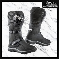 Designed for Adventure both on and off road, and on and off the bike, the TCX Baja Waterproof Boots are built to be protective on the bike and walkable on the trail. Full grain leather upper for durability and lasting good looks. Polyurethane inserts at the ankle, heel and toe and an ergonomic shin plate. The perfect hybrid of a hiking boot and a motocross boot, the TCX Baja Boots will take you where the adventure leads, over any terrain, through any weather.TCX Baja WP Boots for ₹24,000, link in bio. 📞: 9769902249 for queries We accept Bajaj EMI. #AHHelmets #Helmets #HelmetsInIndia #Bikers #Bike #BikeLife #MotorCycle #MotorBike #MotorCycles #BikeRide #MountainBike #RoadBike #Racing #Cruising #Wheels #InstaMotorCycle #InstaMoto #InstaBike #InstaMotor #Bikestagram #Biker #Moto #BikersOfInstagram #Ride #BikePorn #Motor #TCX