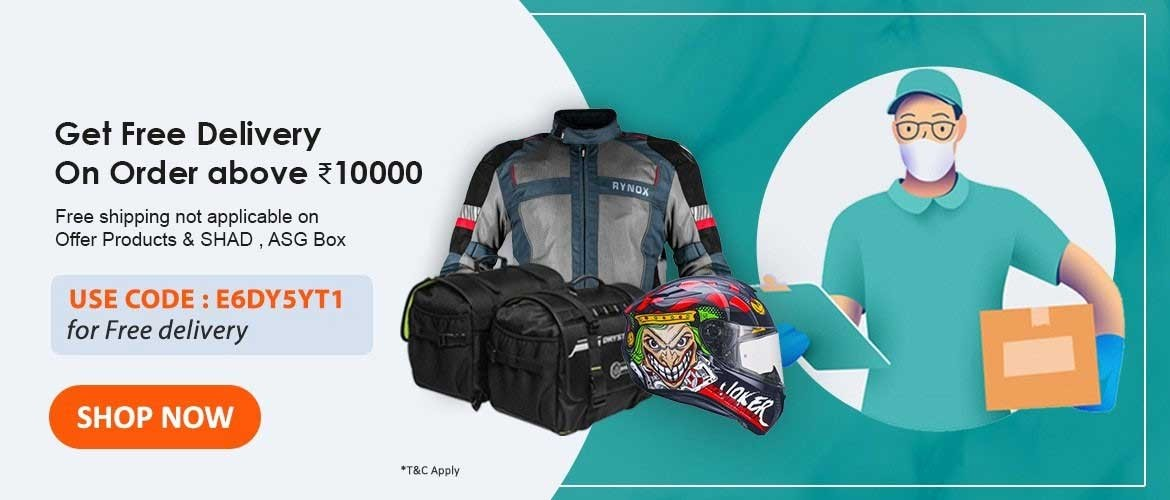Get Free Shipping On Order Above Rs.10000