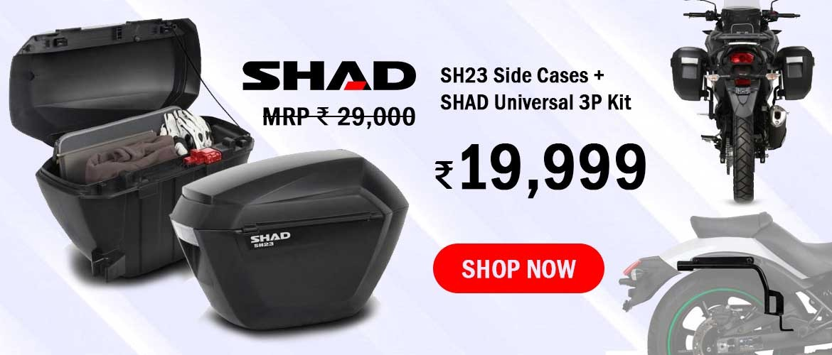 SHAD SH23 Side Cases